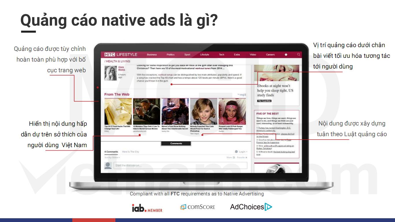 Đánh giá MGID dành cho nhà quảng cáo