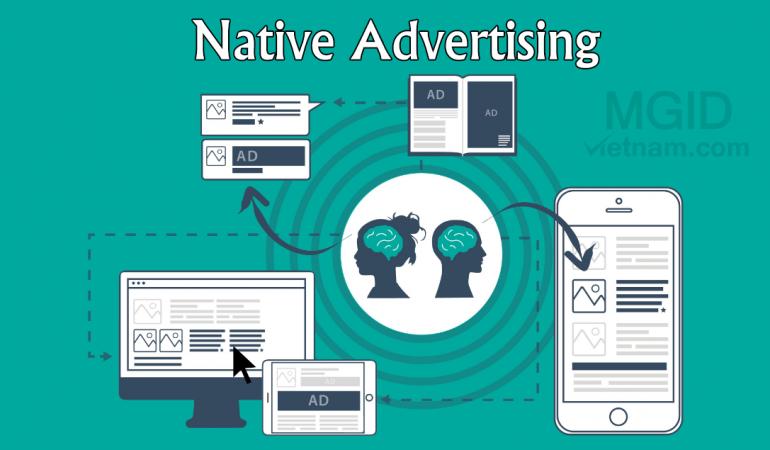 Quảng cáo tự nhiên là gì MGID Native Advertising